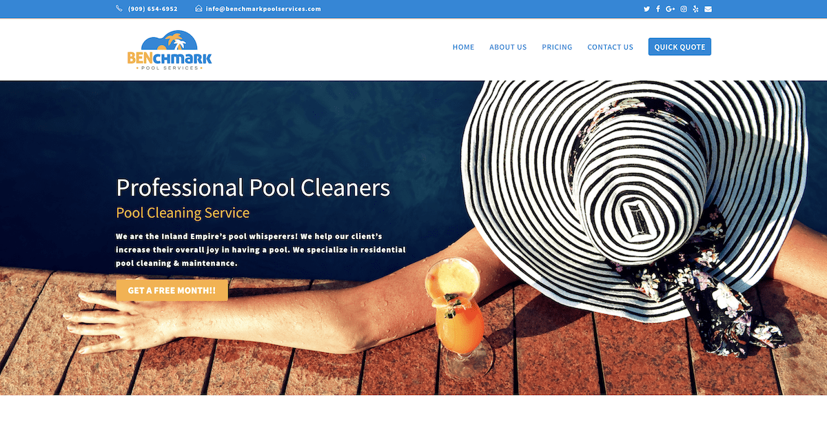 Benchmark Pool Services