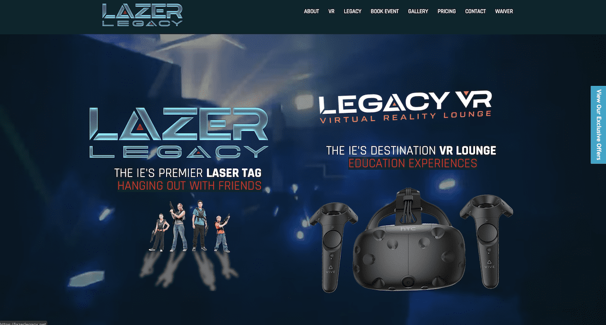 Lazer Legacy Website